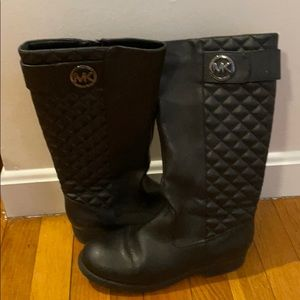 Black Michael Kors Boots